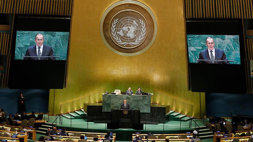 Россия призвала ООН поддержать заявление о недопустимости ядерной войны