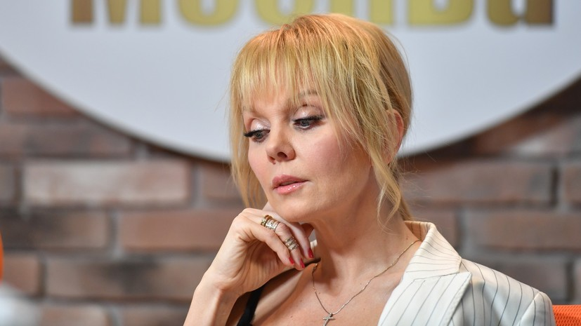 Валерия выразила соболезнования в связи со смертью Захарова