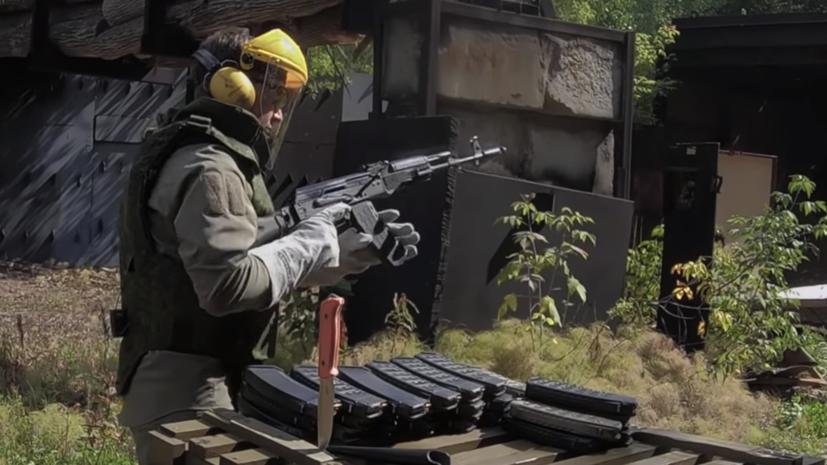 Опубликовано видео «экстремального теста» автомата АК-74М
