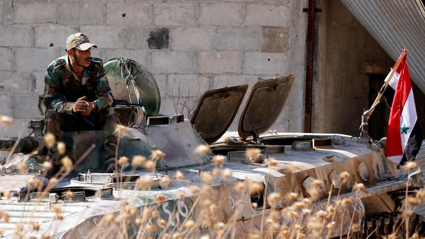 Делегация иностранных журналистов посетила освобождённый город Хан-Шейхун в Сирии