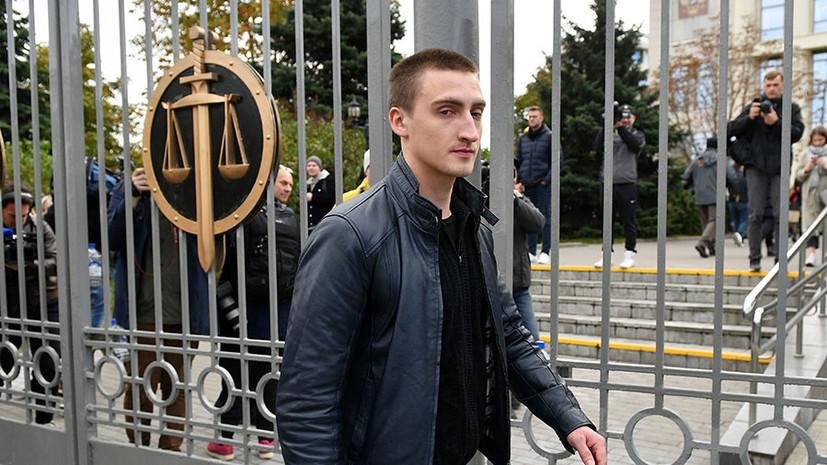 Прокуратура запросила условный срок для Устинова