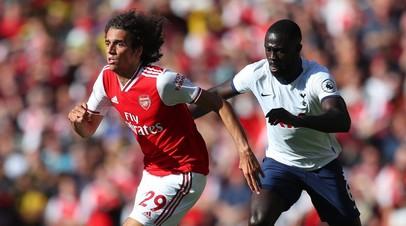 «Арсенал» и «Тоттенхэм» сыграли вничью в матче четвёртого тура АПЛ