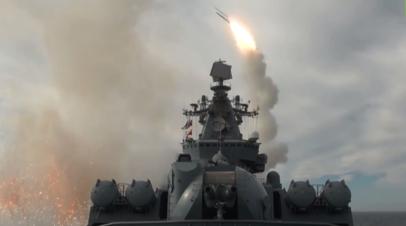 Корабли Тихоокеанского флота отразили атаку условного противника в Охотском море