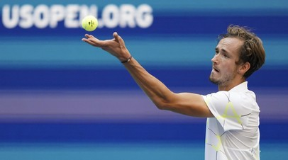 Медведева поздравила Медведева с выходом в полуфинал US Open
