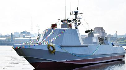 Десантно-штурмовой катер типа «Кентавр-ЛК» ВМС Украины