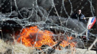 Беспорядки в Косове
