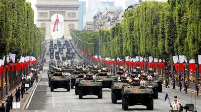 Военный парад в Париже