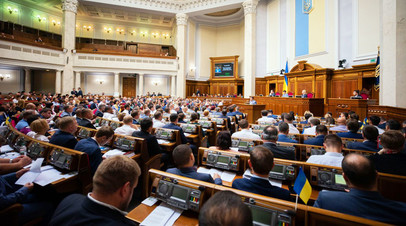 Рада приняла в первом чтении законопроект о процедуре импичмента