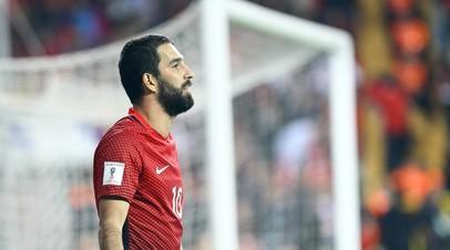 Турецкий футболист Туран приговорён к 2 годам и 8 месяцам лишения свободы