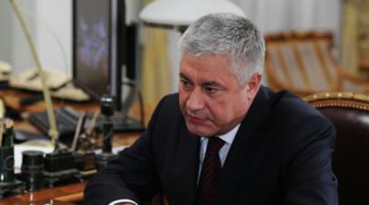 Колокольцев представил личному составу нового главу МВД по Крыму