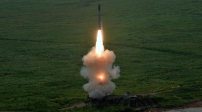 Запуск «Оникса» с БРК «Бастион»