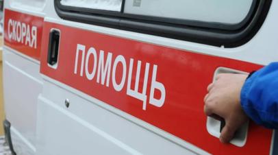 На западе Москвы столкнулись три автобуса