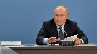 Путин рассказал об опыте преодоления неудач при реализации проектов