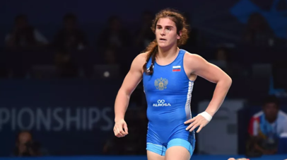 Воробьёва завоевала золотую медаль на ЧМ по борьбе