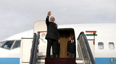 Пакистан отказался пропустить самолёт премьера Индии