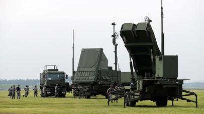 Aмериканский противоракетный комплекс Patriot
