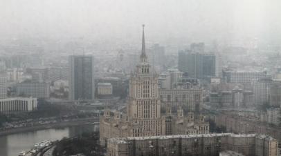 В Москве вновь объявили «оранжевый» уровень погодной опасности