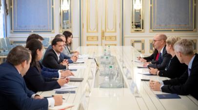 Зеленский заверил МВФ в приверженности реформам
