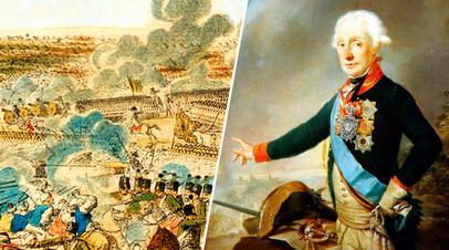 Сражение при Рымнике (гравюра Шютца) / Александр Суворов