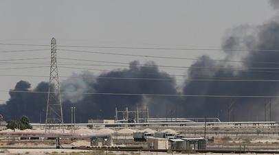 Нефтяные объекты компании Saudi Aramco