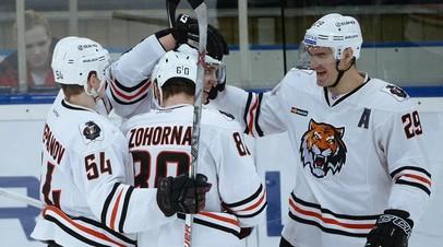 «Амур» одержал первую победу в новом сезоне КХЛ, выиграв матч с «Адмиралом»