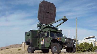 Американский СВЧ-комплекс на полноприводном автомобиле Humvee