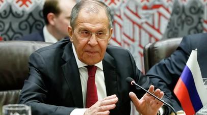 Лавров пообещал ответные меры на невыдачу виз США российским делегатам
