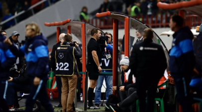 Судья с помощью VAR отменил гол «Зенита» на 96-й минуте матча с «Локомотивом»
