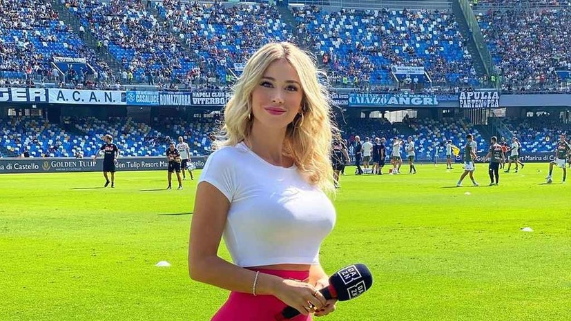 Итальянская журналистка отреагировала на непристойное предложение фанатов «Наполи»