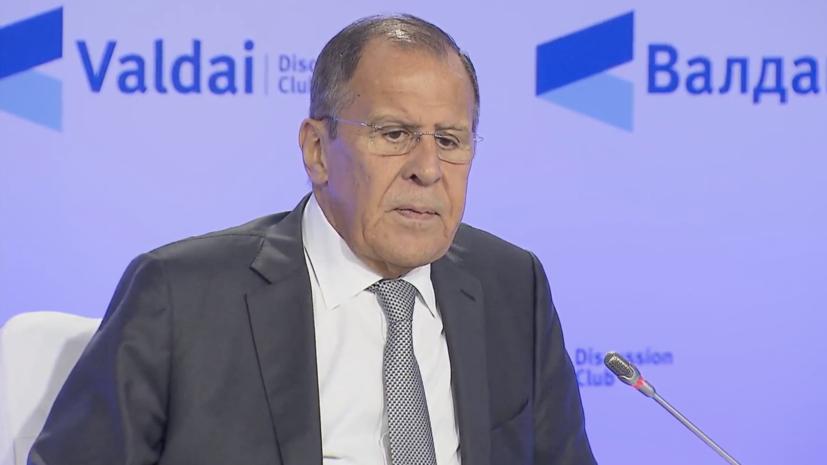 Лавров: санкции против России не заработают никогда