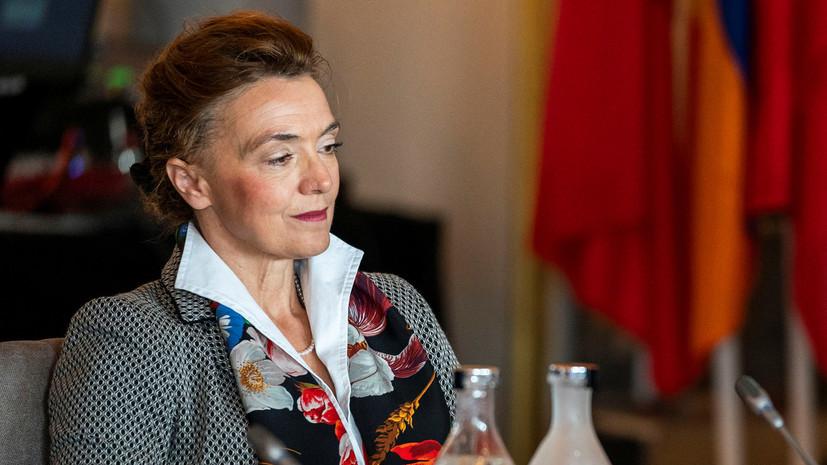 Генсек СЕ рассказала о желании совершить визит в Россию