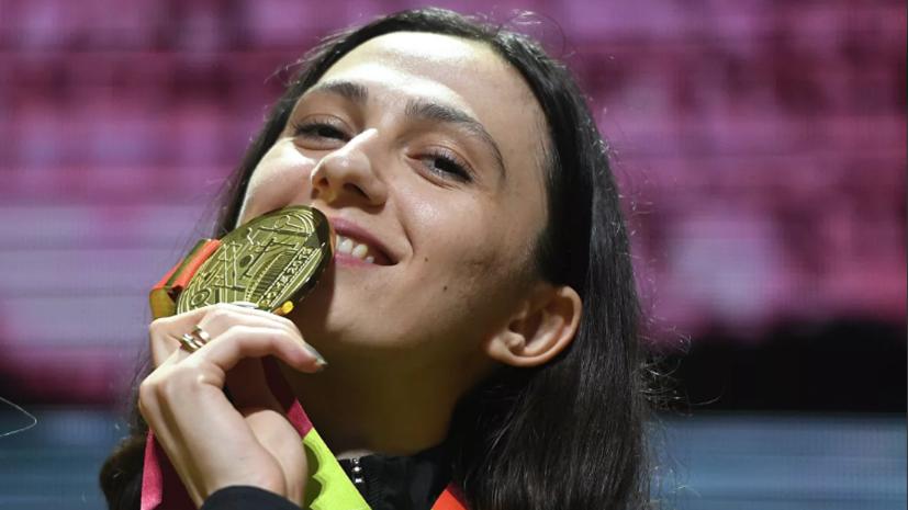 «Рекорд мира не откладываю»: Ласицкене о выступлении без флага, условиях ЧМ в Дохе и планах на Олимпиаду
