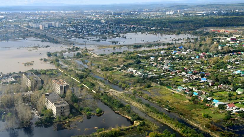 Ответственность чиновников, компенсации и учения: Путин отдал поручения по ликвидации последствий паводка в ДФО
