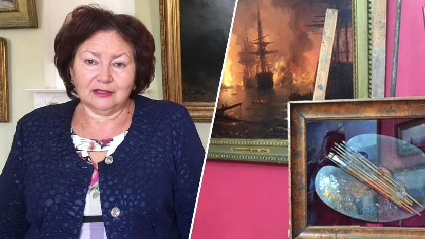 «У нас новые перспективы»: директор галереи Айвазовского в Феодосии о планах по созданию музейного квартала