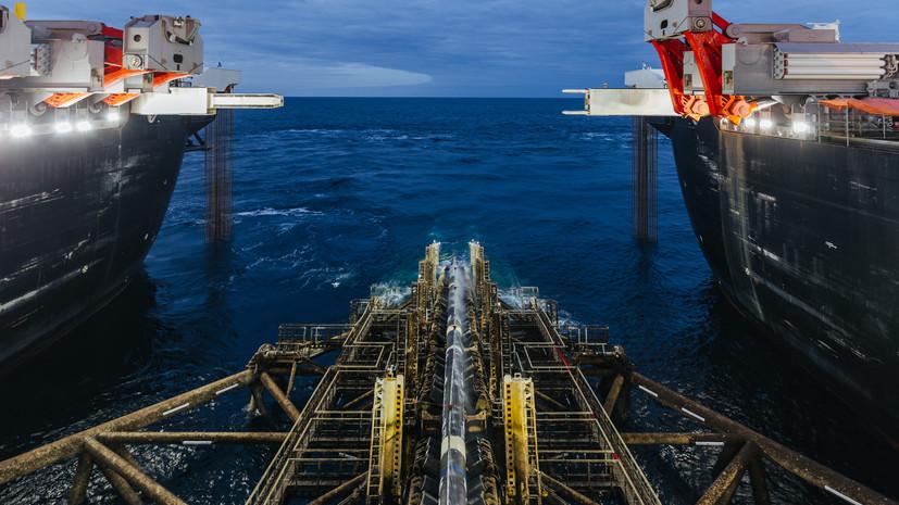 В «Газпроме» назвали сроки запуска «Турецкого потока»