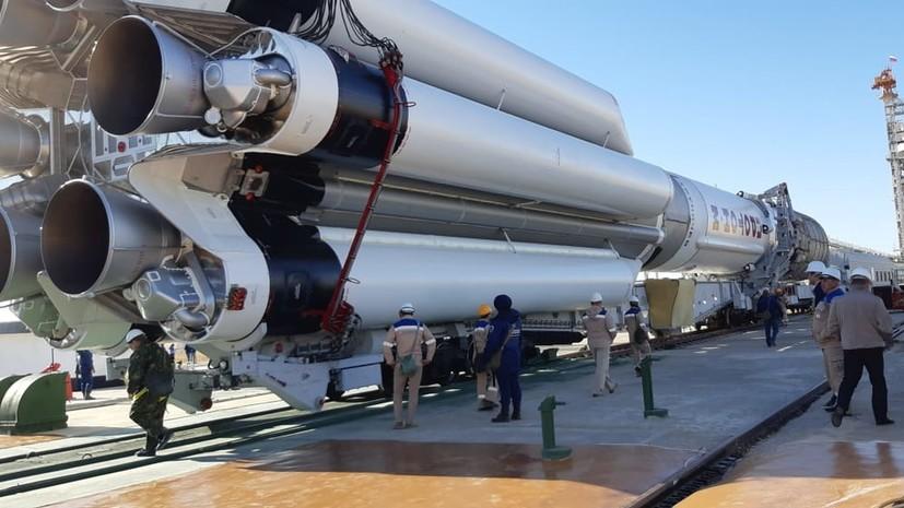 В «Роскосмосе» назвали дату отложенного запуска ракеты «Протон-М»