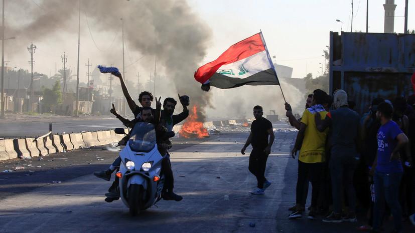 Десятки погибших, сотни задержанных: что известно о новых массовых протестах в Ираке