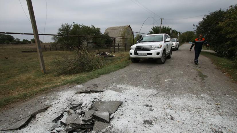 В ДНР заявили о возгорании дома в результате обстрела ВСУ