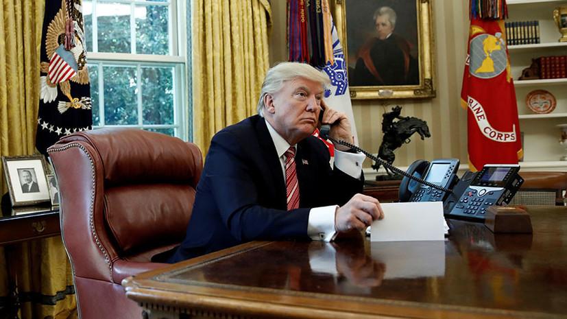 Axios: Трамп объяснил звонок Зеленскому просьбой главы Минэнерго США