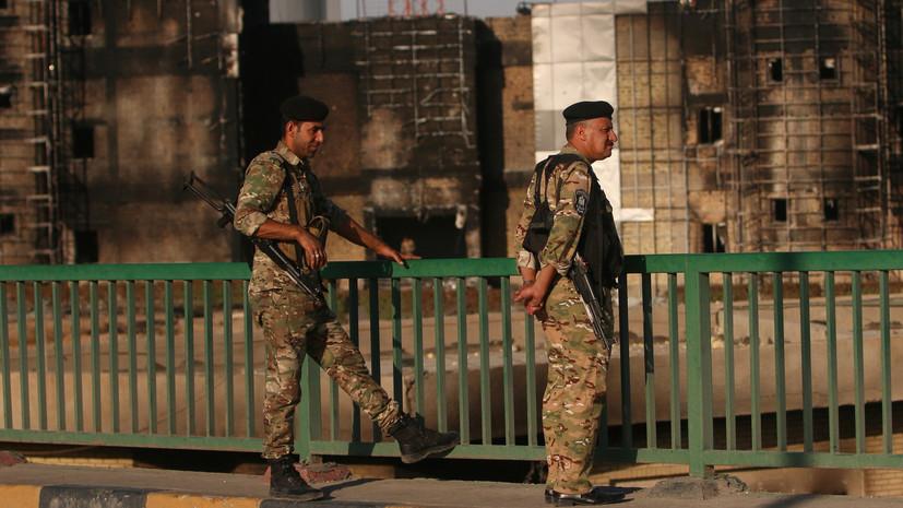 В результате столкновений в Багдаде погибли 15 человек
