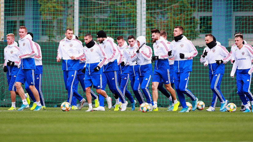 Шутка Дзюбы, эмоции новичков и приглашение для Путина: сборная России начала подготовку к отборочным матчам Евро-2020