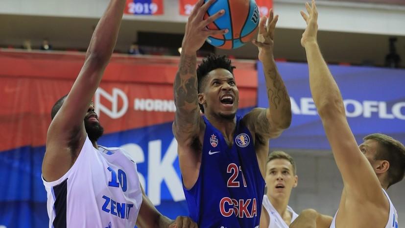 ЦСКА уступил «Зениту» в матче регулярного чемпионата Единой лиги ВТБ
