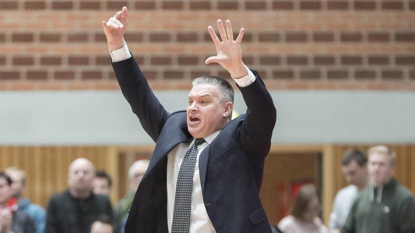 Пашутин назначен главным тренером молодёжной сборной России по баскетболу