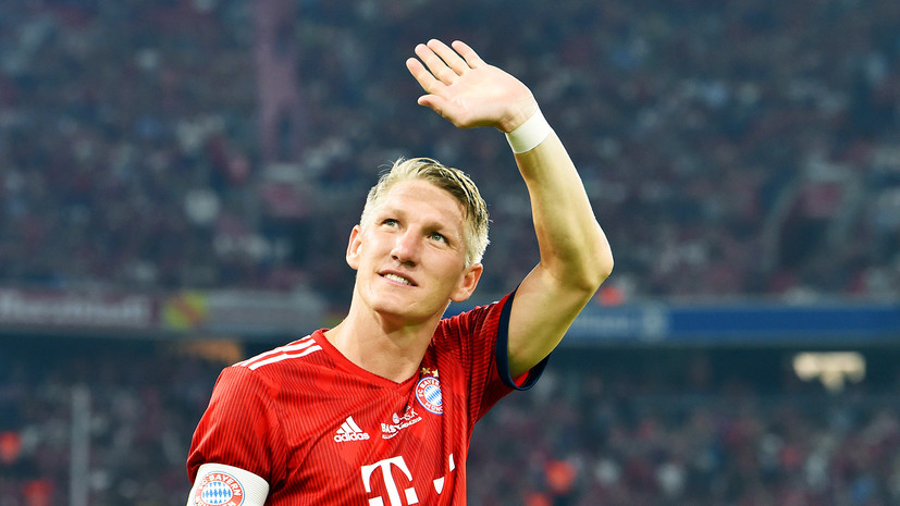 «Я всегда буду верен футболу»: Швайнштайгер объявил о завершении карьеры