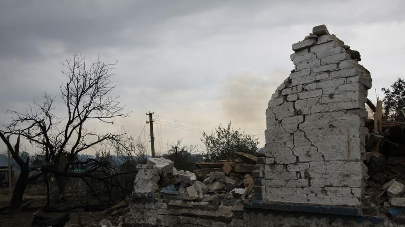 СК возбудил шесть дел по факту обстрелов мирного населения Донбасса