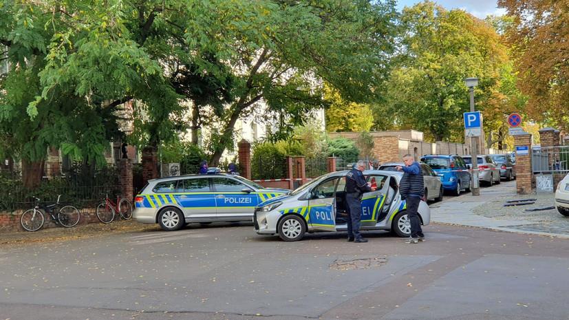 Полиция задержала одного человека в связи со стрельбой в Галле
