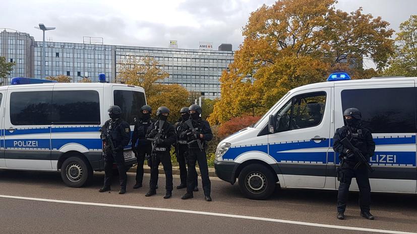 Железнодорожный вокзал в немецком Галле закрыт в связи со стрельбой