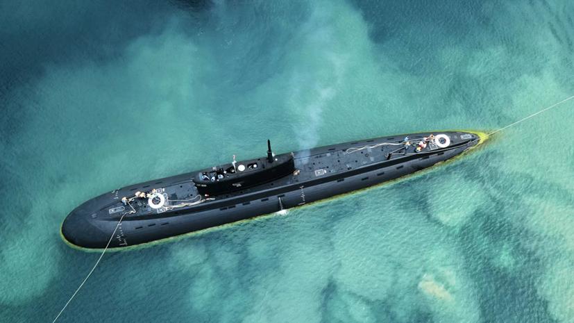Подлодка ЧФ провела стрельбы ракетами «Калибр»