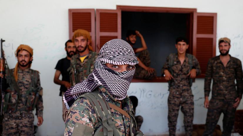 SANA: отряды курдов подожгли нефтяные вышки на севере Сирии