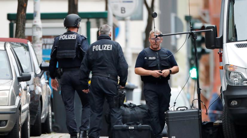 Полиция ФРГ рассказала подробности о стрельбе в Галле
